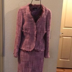 Rickey Freeman tweed 3 Button fully lined suit